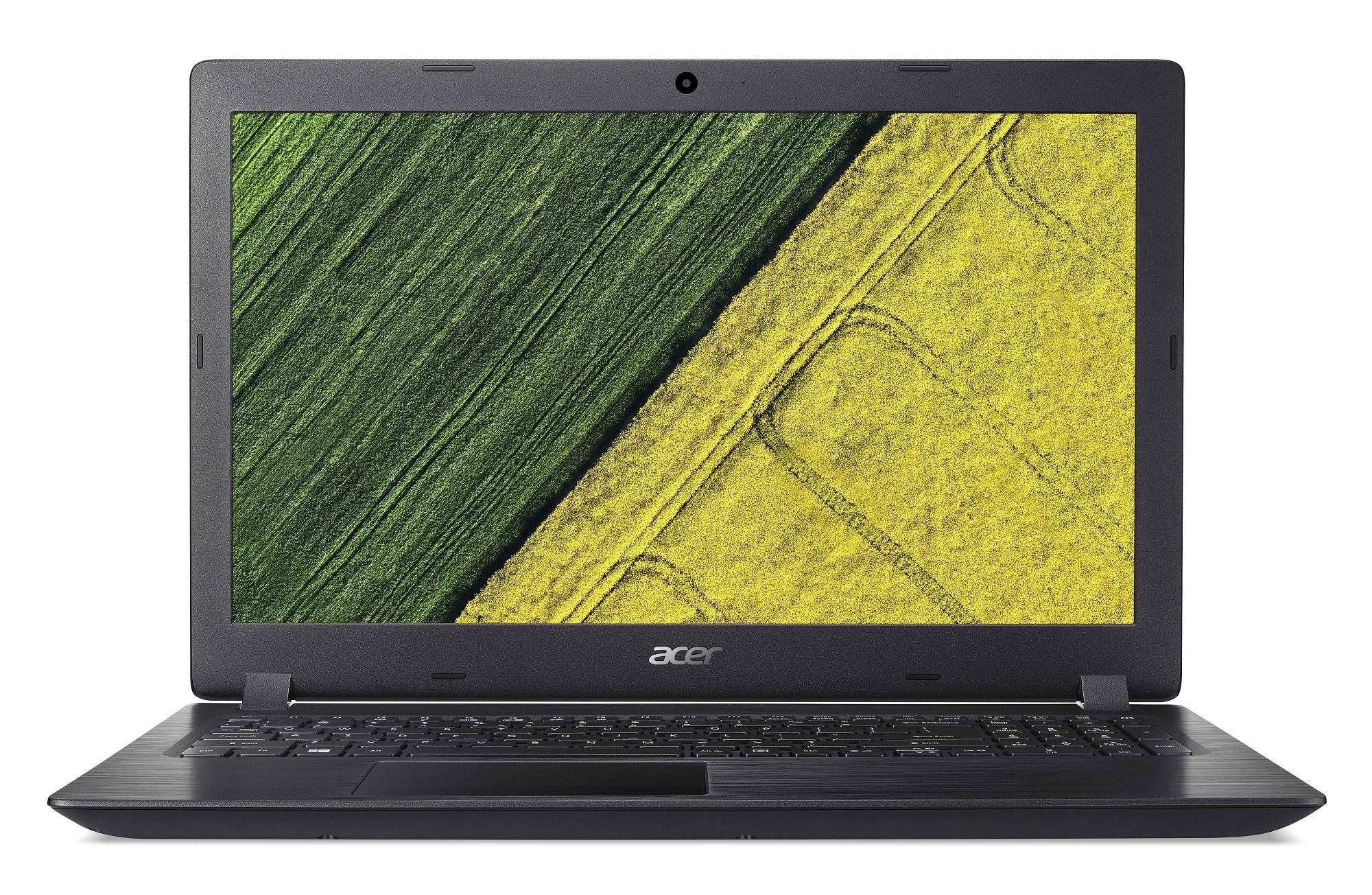 Acer Aspire 3 - 15,6''/i3-7020U/4G/128SSD+1TB/W10 černý