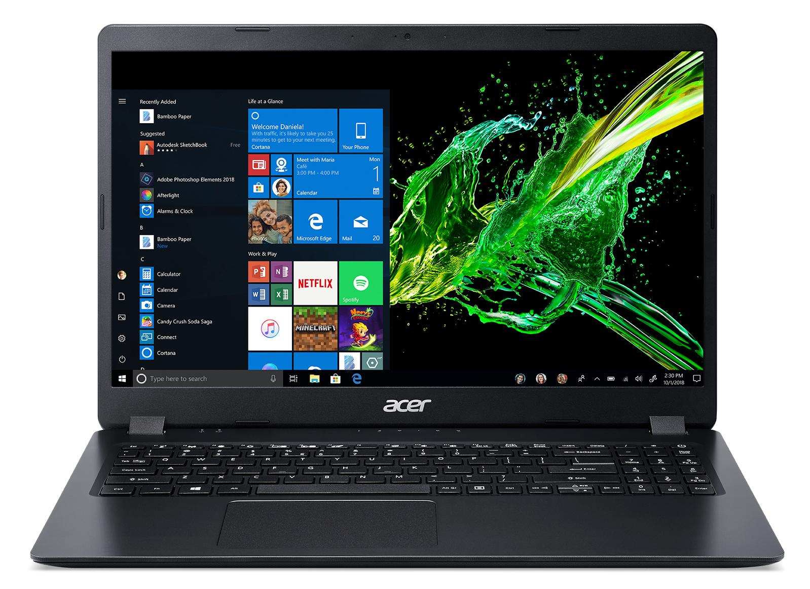 """Acer Aspire 3 - 15,6""""/ATH300U/4G/128SSD/W10S černý"""