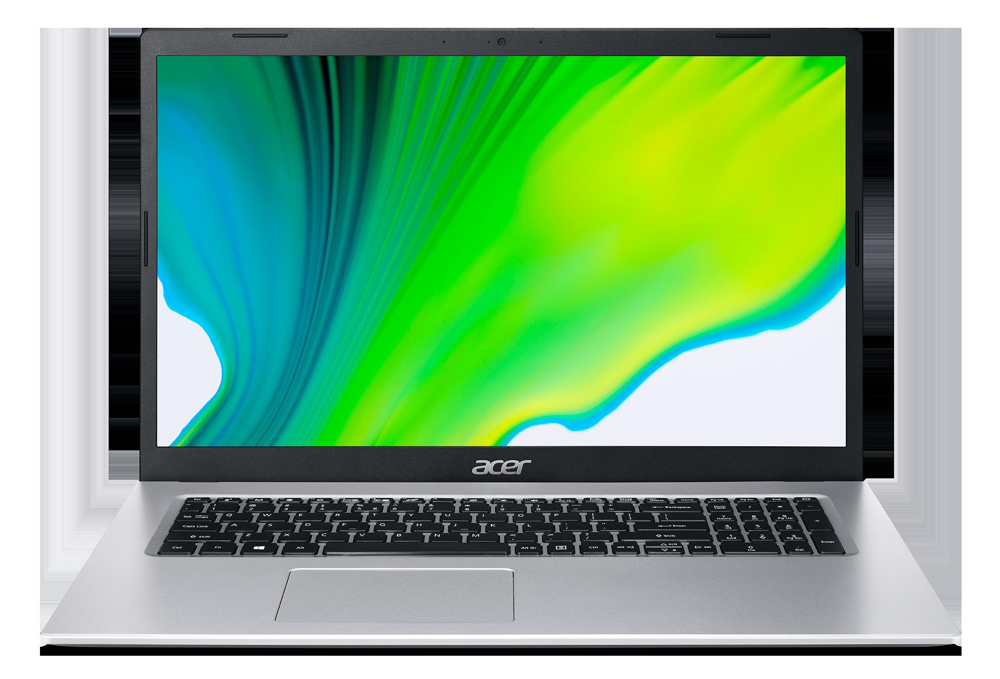 Acer Aspire 3 - 17,3''/N5100/8G/256SSD/W10 stříbrný - NX.A6TEC.005