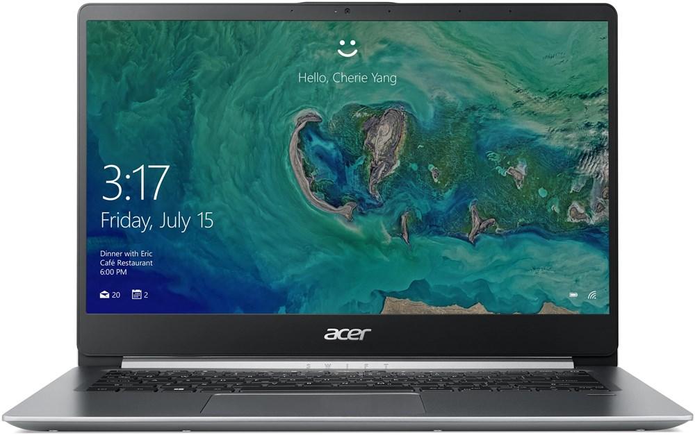Acer Swift 1 - 14''/N5000/4G/64GB/IPS FHD/W10S stříbrný
