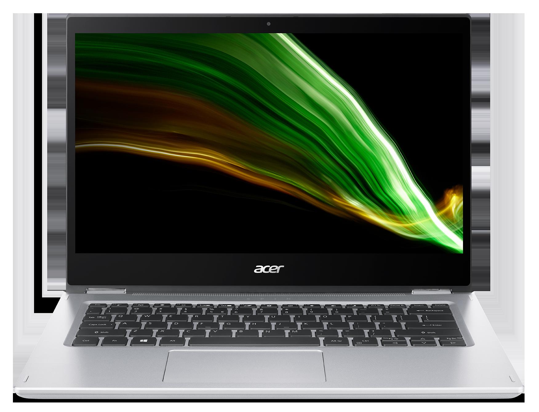 Acer Spin 1 - 14T''/N6000/256SSD/8G/IPS FHD/W10 stříbrný + stylus - NX.ABJEC.001