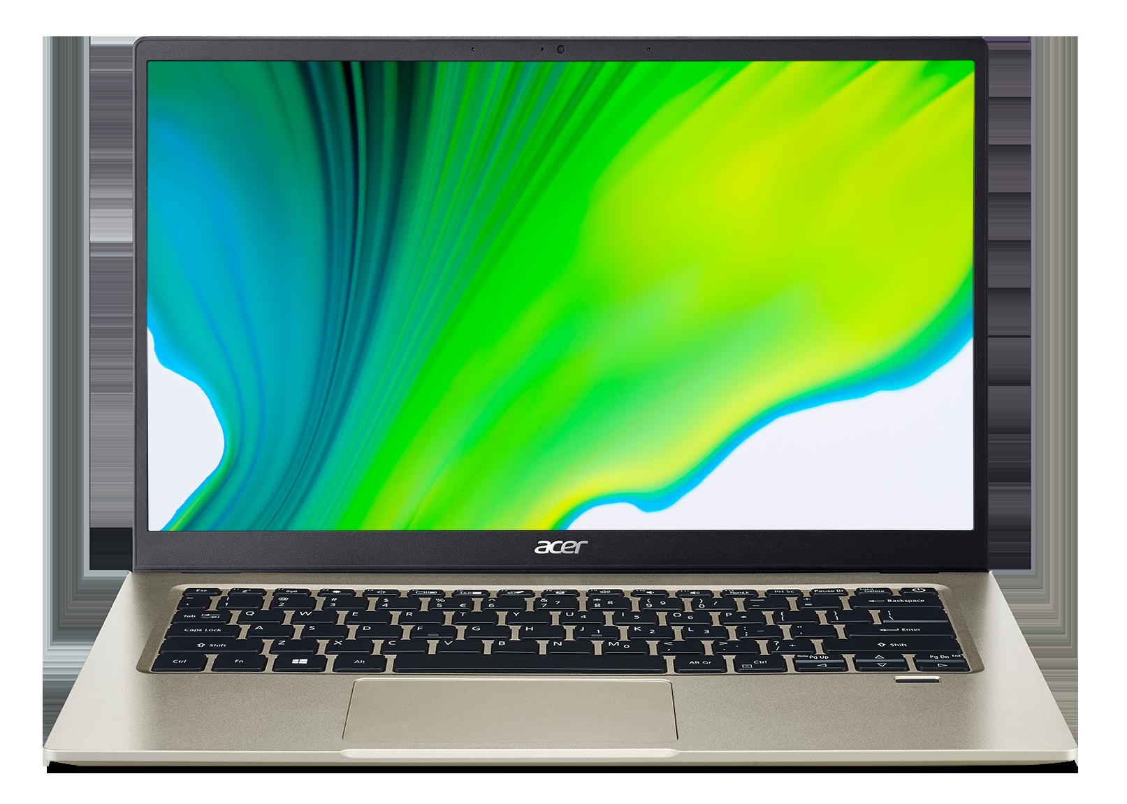 Acer Swift 1 - 14''/N6000/4G/128SSD NVMe/IPS FHD/W10S zlatý + Microsoft 365 - NX.A7BEC.002