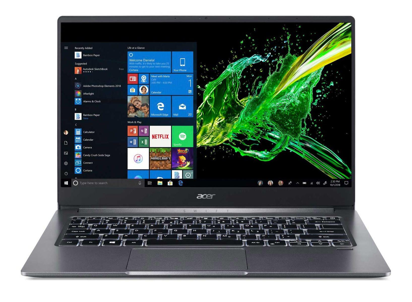 """Acer Swift 3 - 14""""/i5-1035G1/8G/256SSD/W10 šedý"""