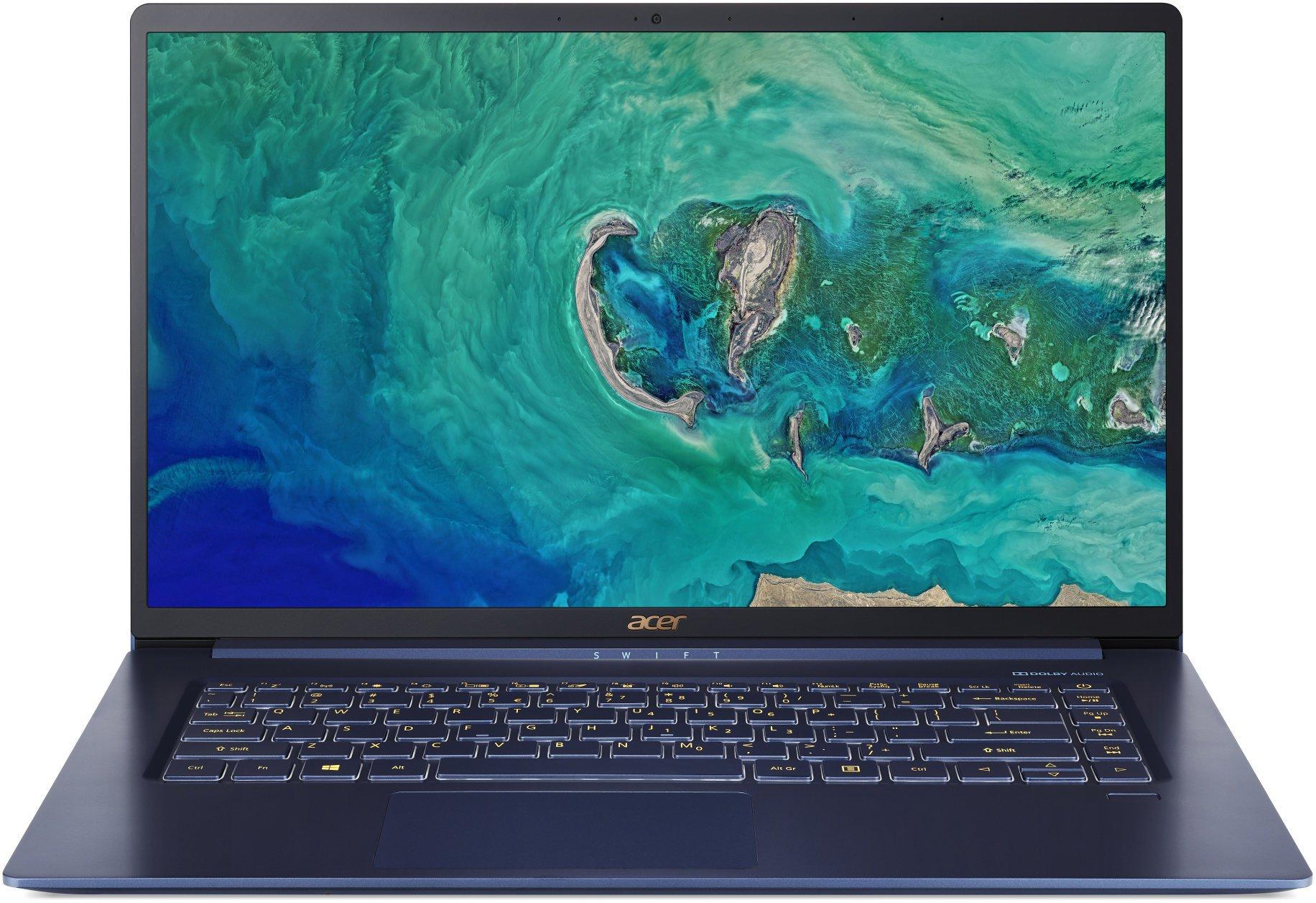 Acer Swift 5 - 15,6T''/i7-8565U/16G/2*512SSD/W10 modrý