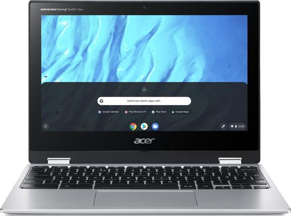"""Acer Chromebook Spin 11 - 11,6T""""/M8183C/32GB/4G/HD/Chrome stříbrný"""