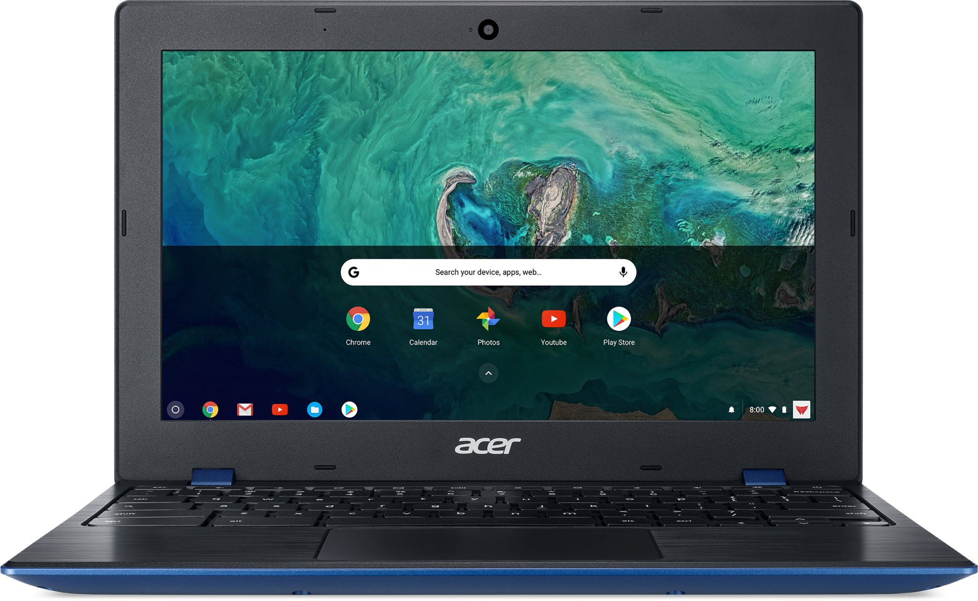 Acer Chromebook 11 - 11''/N3450/4G/32GB/Chrome modro-černý