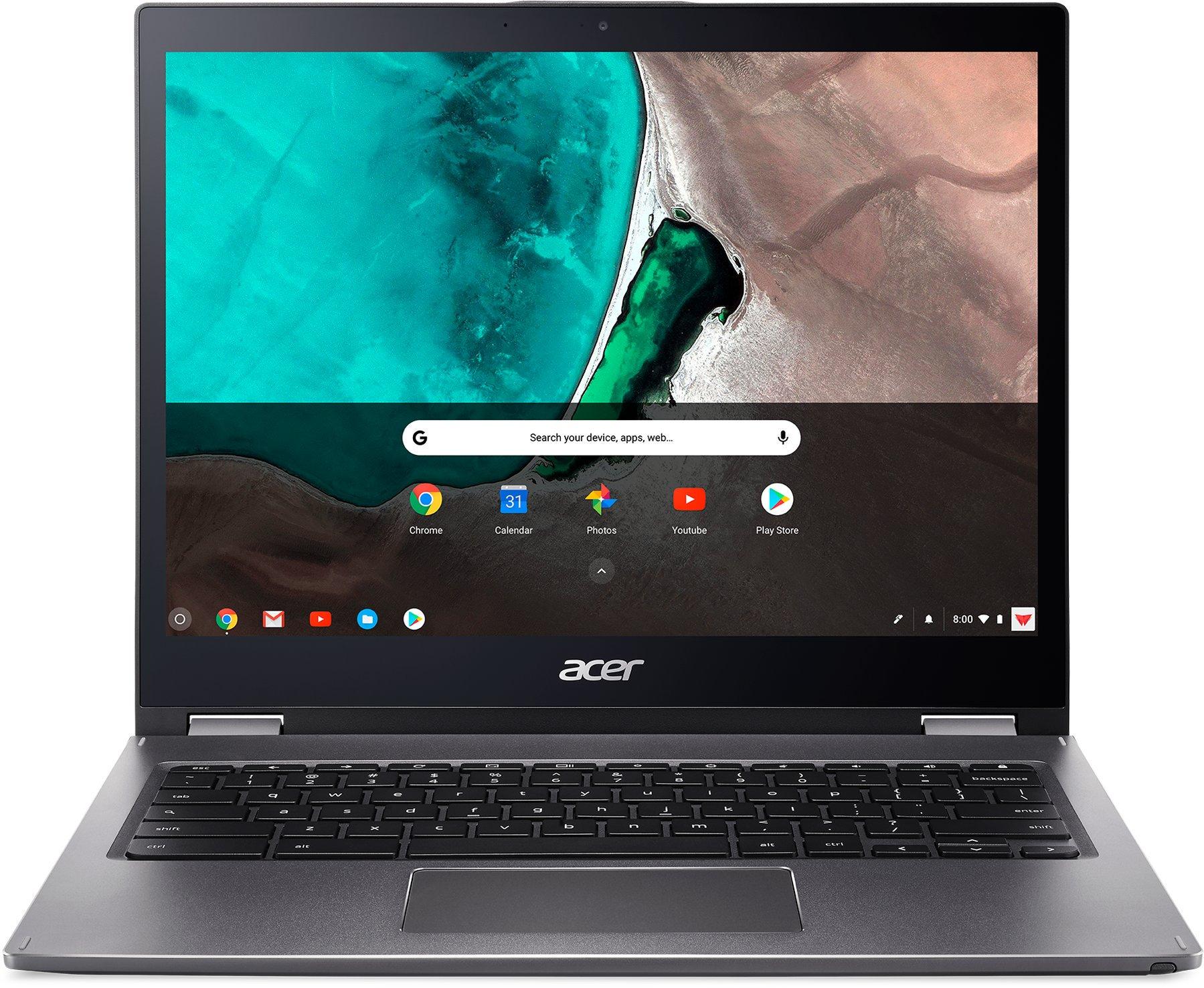 """Acer Chromebook Spin 13 - 13,5T""""/i5-8250U/8G/128GB/3:2/Chrome šedý + stylus"""
