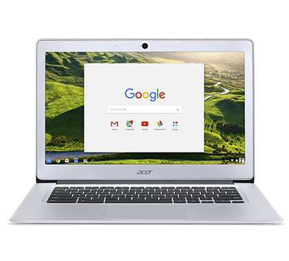 Acer Chromebook 14 - 14''/N3160/4G/64GB/Chrome stříbrný
