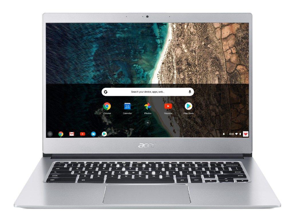 "Acer Chromebook 14 - 14""/N4200/4G/64GB/Chrome stříbrný"