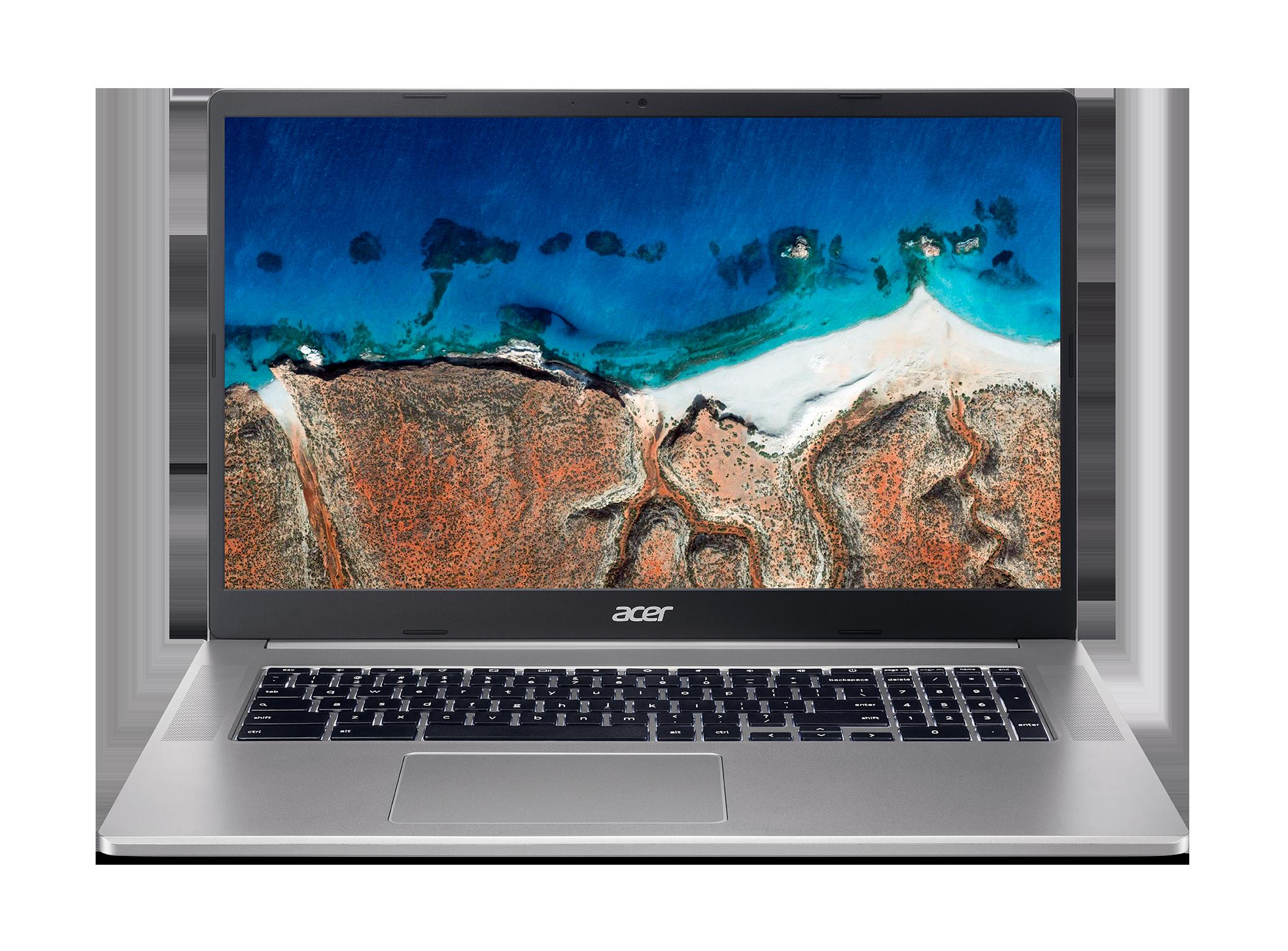 Acer Chromebook 317 - 17,3''/N5030/8G/128GB/Chrome stříbrný - NX.AQ1EC.003