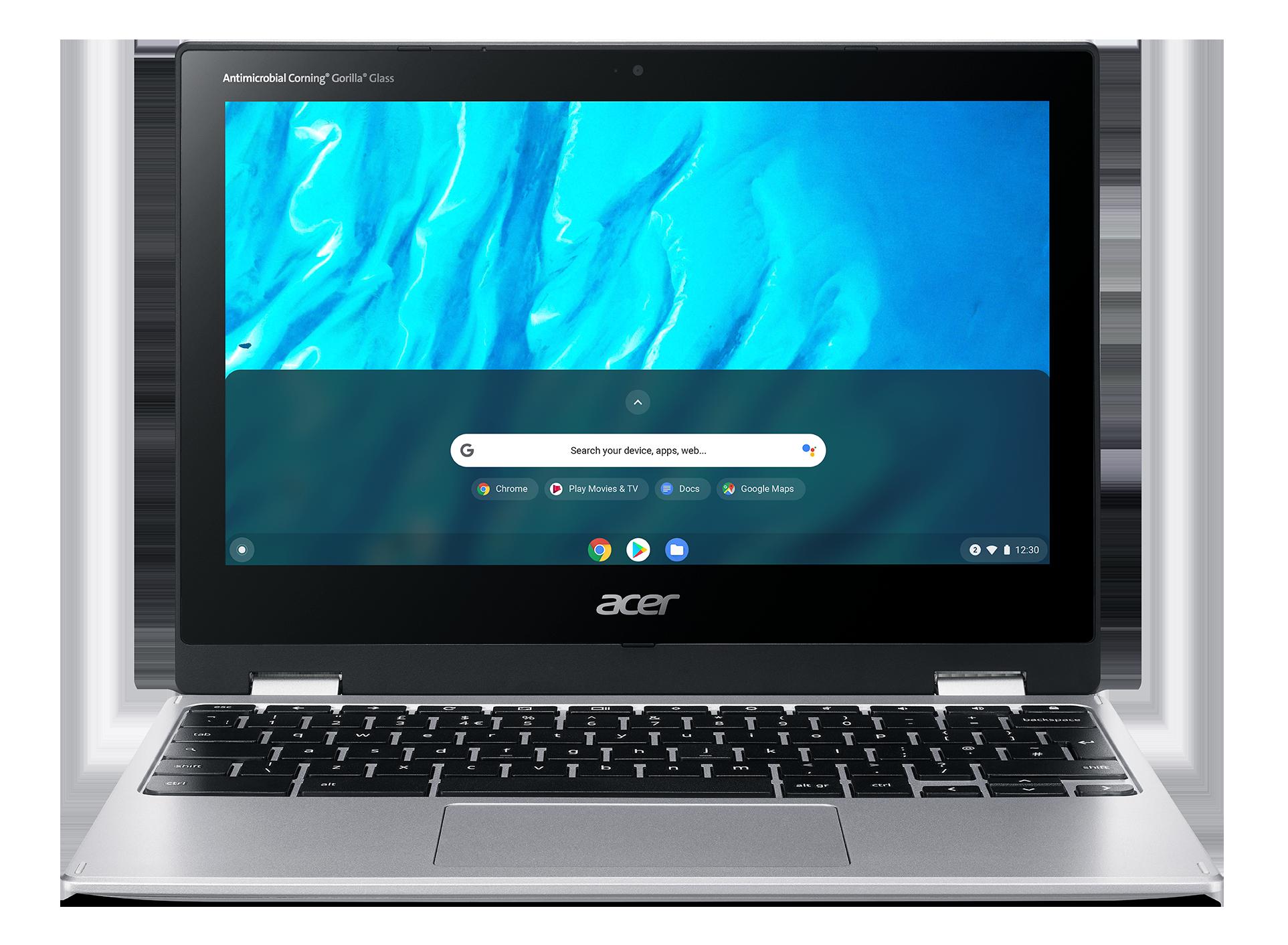Acer Chromebook Spin 11 - 11,6T''/MT8183C/4G/64GB/Chrome stříbrný - NX.HUVEC.005