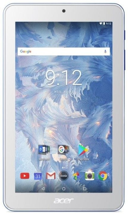 Acer Iconia One 8 - 8''/MT8167/16GB/1G/IPS/Android 7.0 modrý