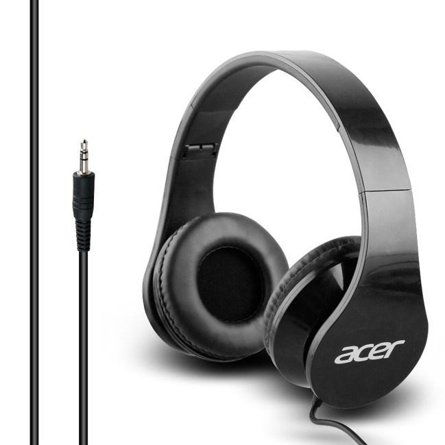 Acer Over-Ear sluchátka černé