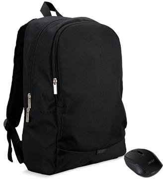 Acer STARTER KIT batoh 15,6'' černý + bezdrátová myš - NP.ACC11.029