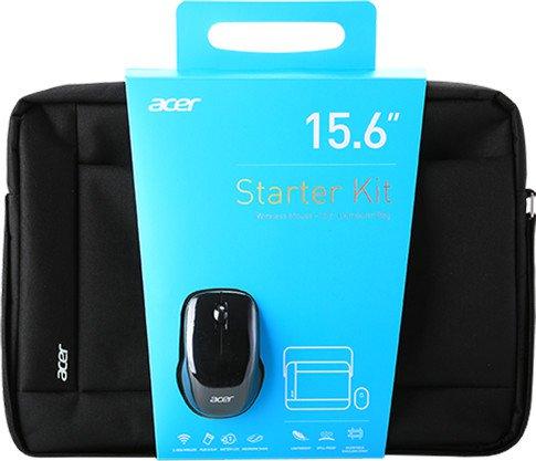 """Acer STARTER KIT brašna 15,6"""" černý + bezdrátová myš"""