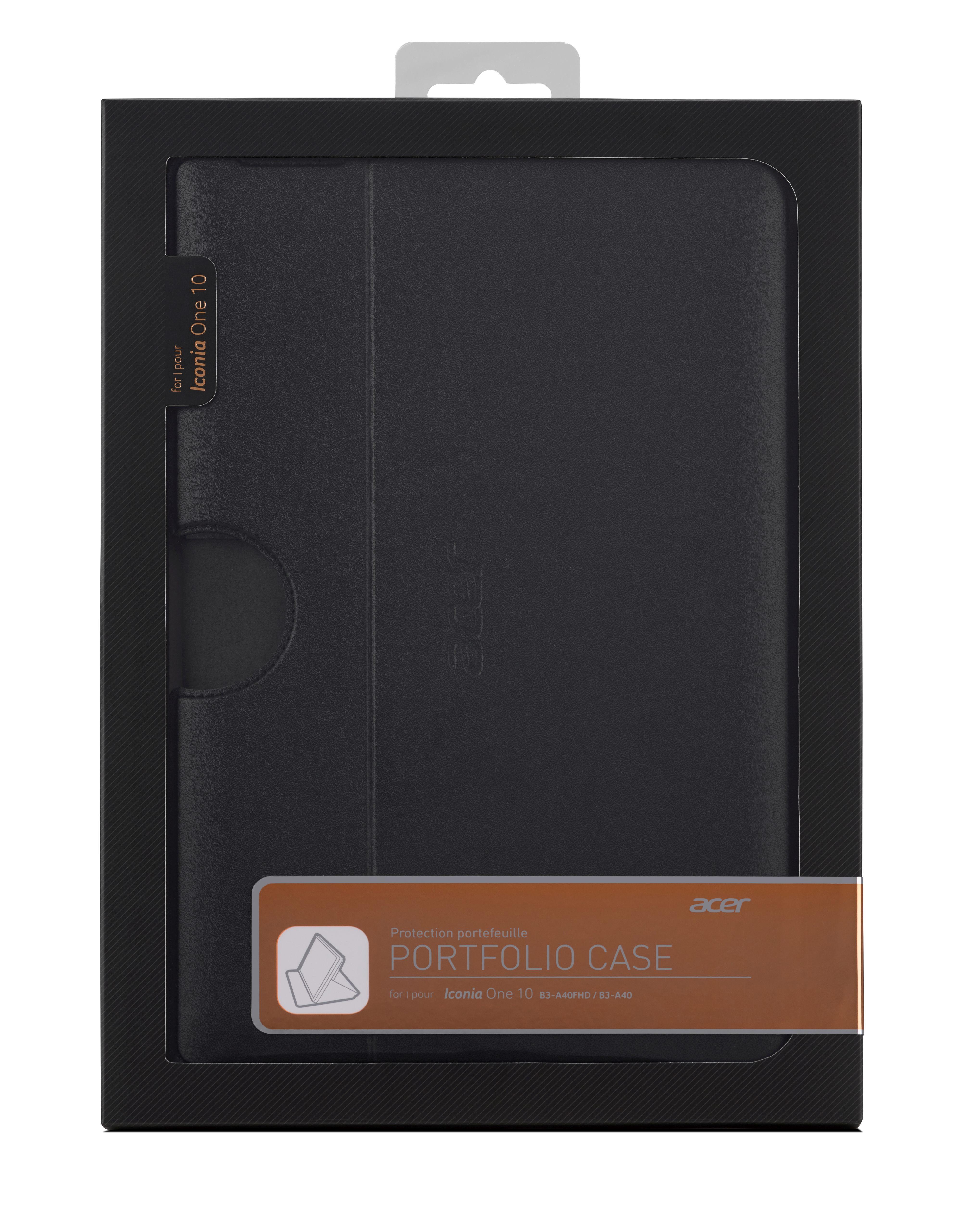 Acer PORTFOLIO CASE obal na Iconia One 10 (B3-A40) černý