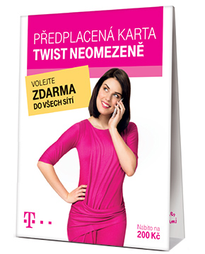 T-mobile TWIST SIM karta