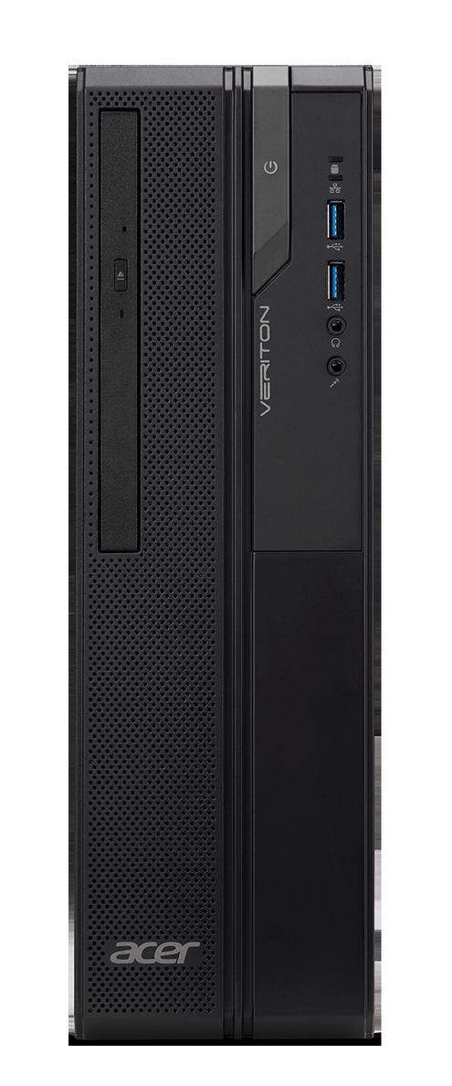 Acer Veriton X (VX2620G) - J4005/4G/256SSD/DVD/Linux + 2 roky NB