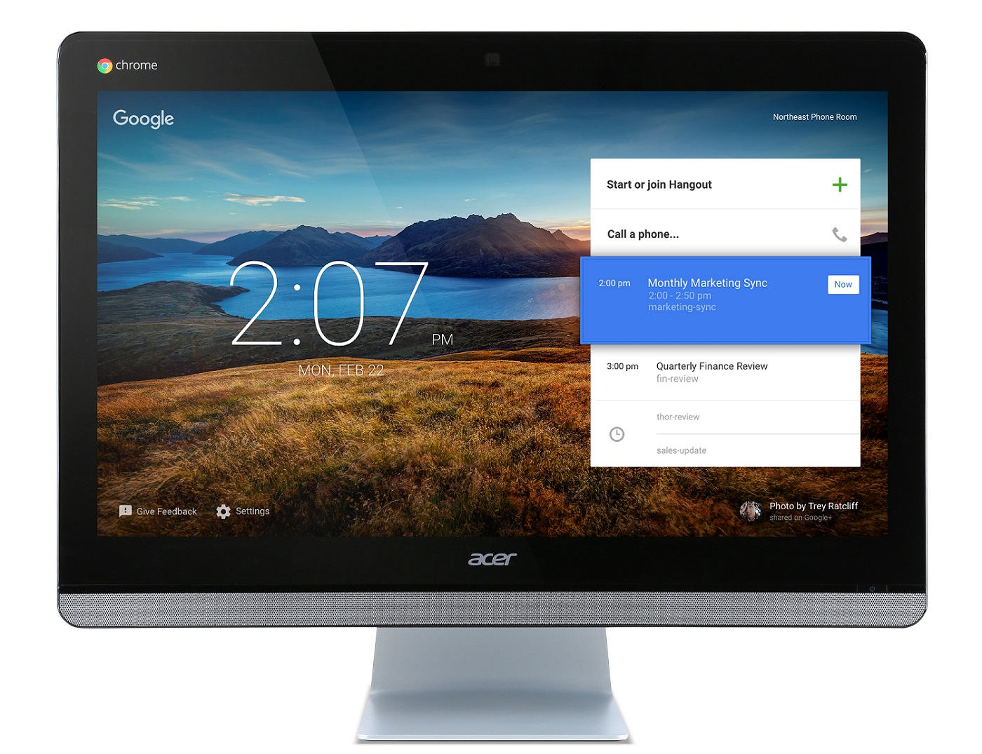Acer Aspire CA24I -23,8''/M3215U/16G/4G/Chrom:touch