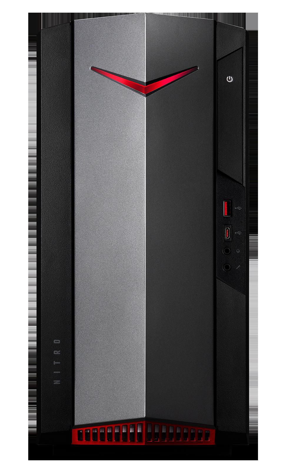Acer Nitro N50-620 - i7-11700F/1TBSSD/16G/RTX3060Ti/W10 - DG.E2FEC.003