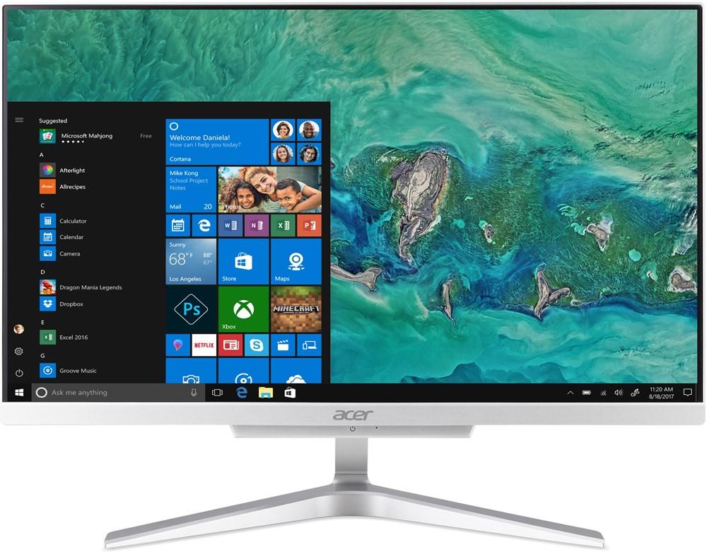 Acer Aspire C22-865 - 21,5''/i3-8130U/256SSD/4G/W10 + externí DVD