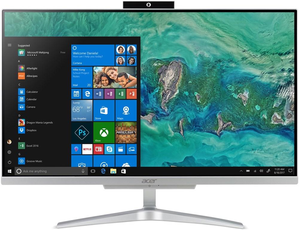 Acer Aspire C24-865 - 23,8''/i3-8130U/256SSD/4G/W10 + externí DVD