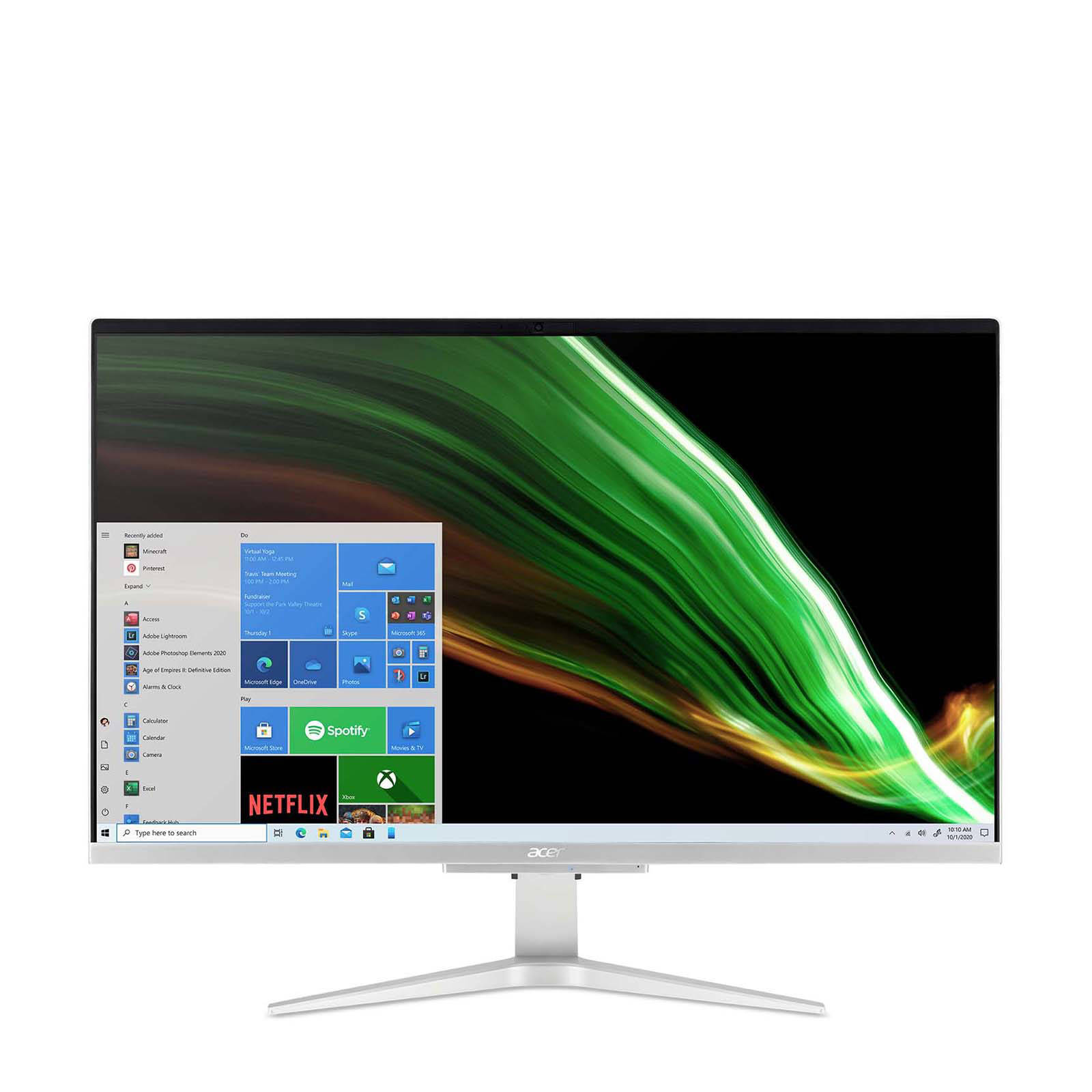 Acer Aspire C27-1655 - 27''/i3-1115G4/512SSD/4G/MX330/W10 - DQ.BGHEC.001
