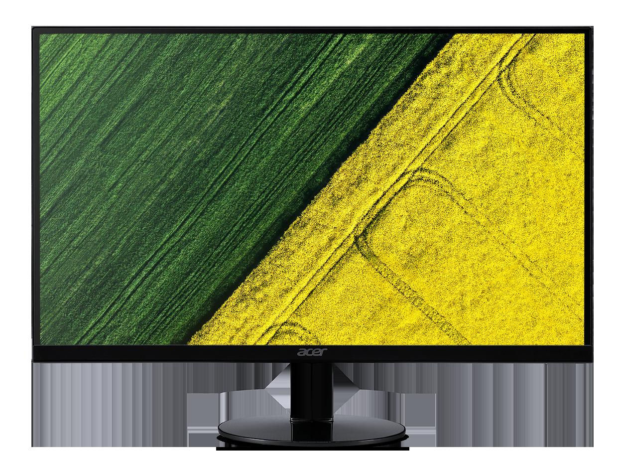 23' LCD Acer SA230 - IPS,FullHD,4ms,60Hz,250cd/m2, 100M:1,16:9,DVI,HDMI,VGA