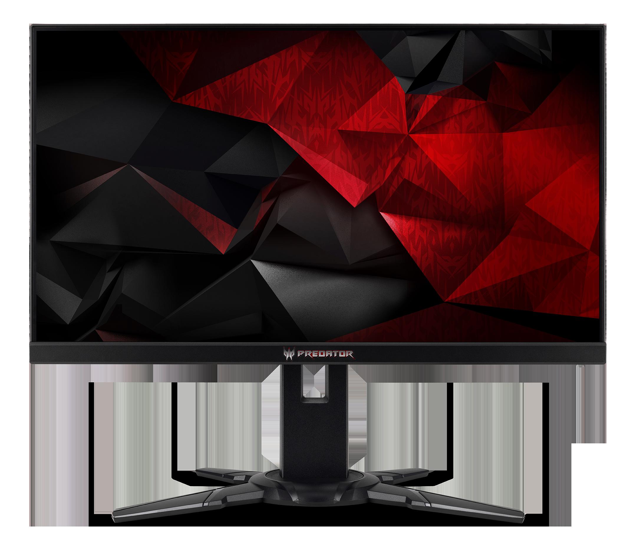 24,5'' Acer Predator XB252Q - TN,FullHD,1ms,240Hz,400cd/m2, 100M:1,16:9,HDMI,DP,USB,repro,pivot