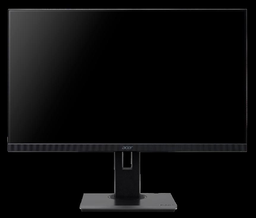 24'' Acer B247YB - IPS,FullHD,4ms,75Hz,250cd/m2, 16:9,HDMI,DP,VGA,USB,repro,pivot + 3 roky NBD