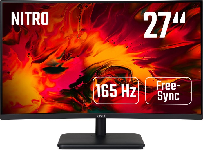 27'' Acer ED270RP - VA, FullHD@165Hz, 5ms, 250cd/m2, 16:9, HDMI, DP, FreeSync - UM.HE0EE.P01