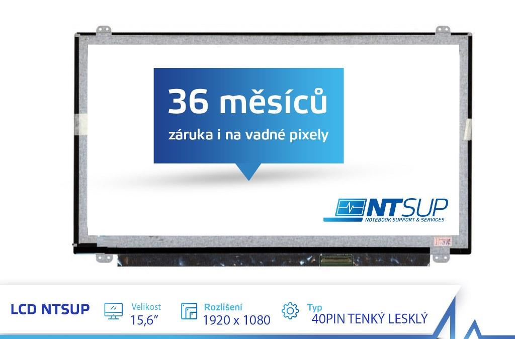 LCD PANEL NTSUP 15,6'' 1920x1080 40PIN TENKÝ LESKLÝ