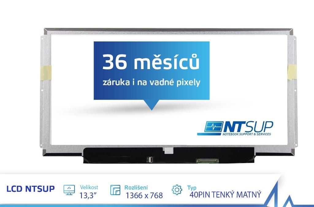 LCD PANEL NTSUP 13,3'' 1366X768 40PIN TENKÝ MATNÝ