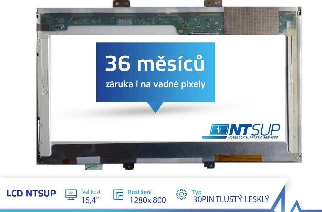 LCD PANEL NTSUP 15,4'' 1280X800 30PIN TLUSTÝ LESKLÝ