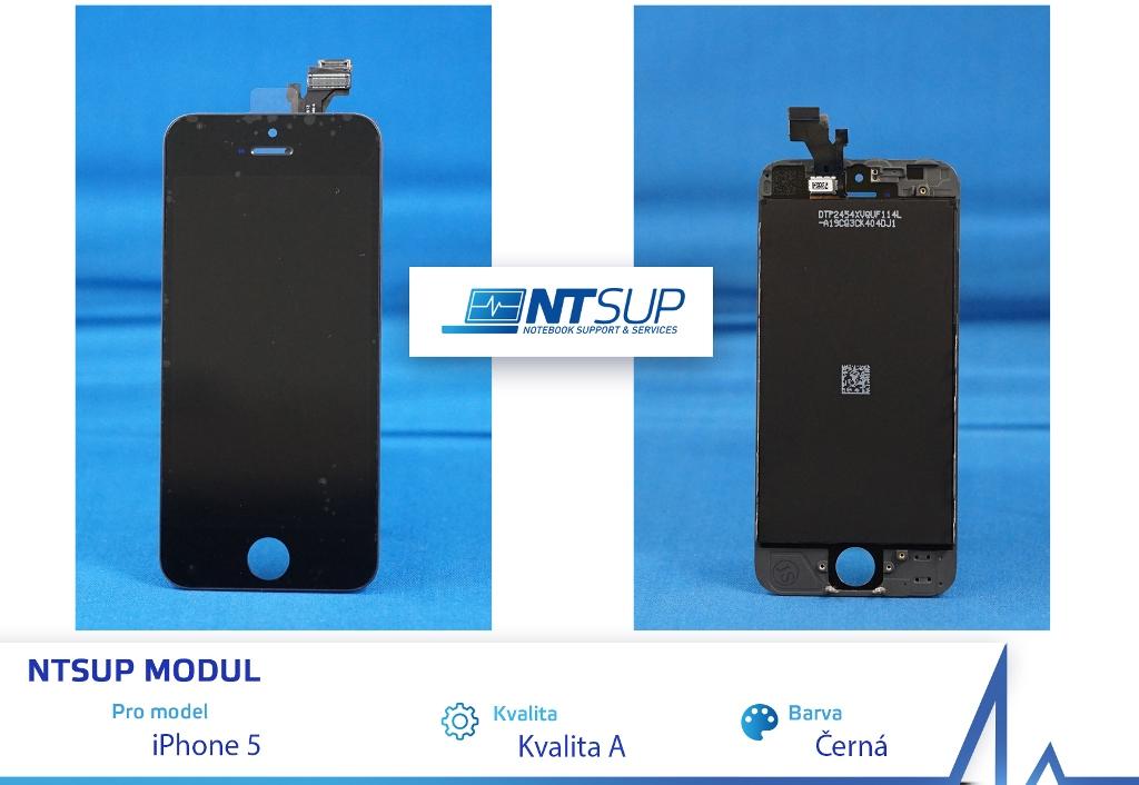 NTSUP LCD modul iPhone 5 černý kvalita A
