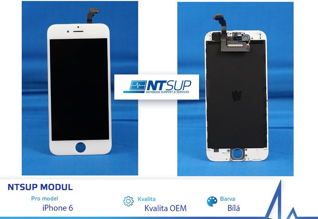 NTSUP LCD modul iPhone 6 bílý kvalita B - 38890013