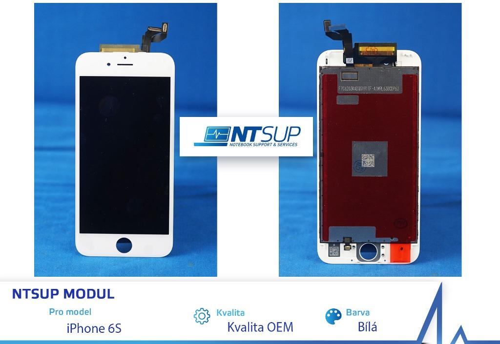 NTSUP LCD modul iPhone 6S bílý kvalita B - 38890021