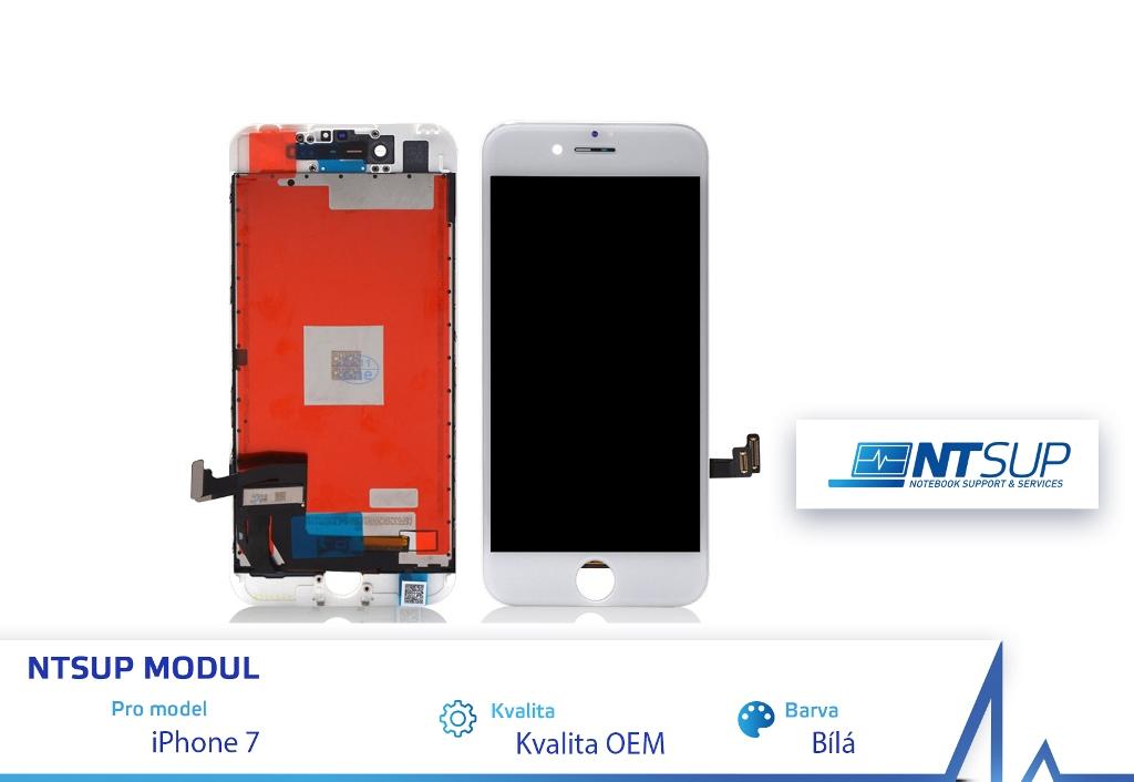 NTSUP LCD modul iPhone 7 bílý kvalita B - 38890029