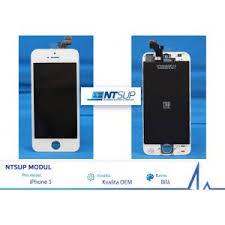 NTSUP LCD modul iPhone SE bílý kvalita A - 38890043
