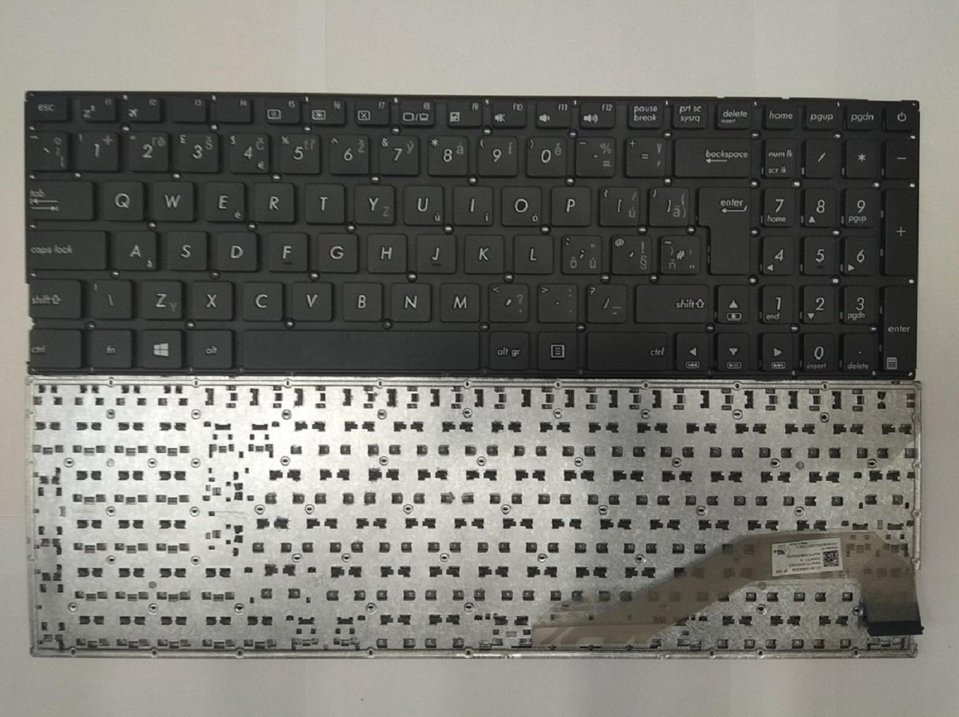 NTSUP Klávesnice Asus X540 X540L X540LA X540LJ X540S X540SA X540SC černá CZ/SK - 28890026