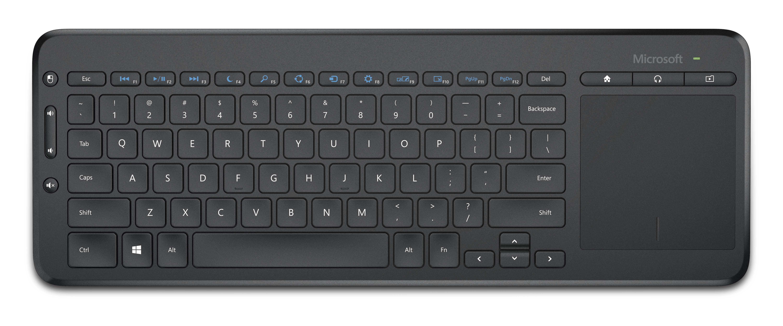 Microsoft All-in-One Media Keyboard Wireless, CZ&SK