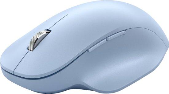Microsoft Bluetooth Ergonomic Mouse, Pastel Blue - 222-00056