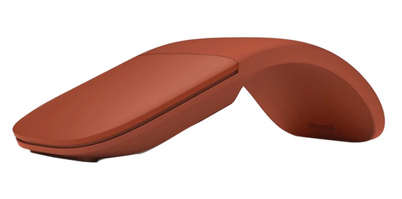 Microsoft Surface Arc Mouse Bluetooth 4.0, Poppy Red - CZV-00080