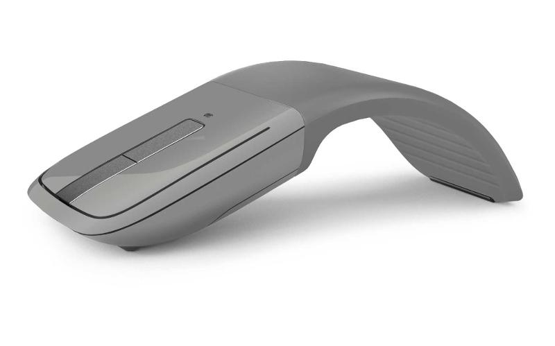 Microsoft Arc Touch Bluetooth 4.0 Mouse, šedá