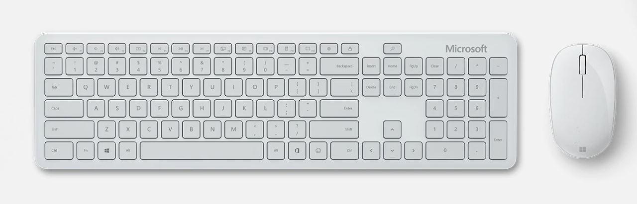 Microsoft Bluetooth Desktop, Glacier, CZ&SK - QHG-00044