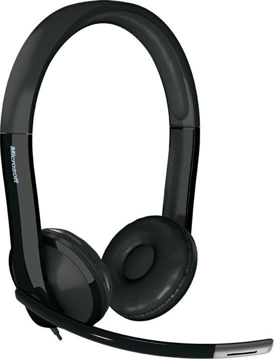 Microsoft LifeChat LX-6000 for Business Headset, USB - 7XF-00001