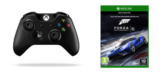 XBOX ONE - Bezdrátový ovladač Langley + Forza 6