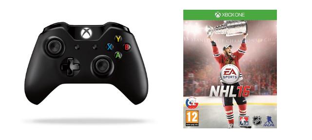 XBOX ONE - Bezdrátový ovladač Langley + NHL 16