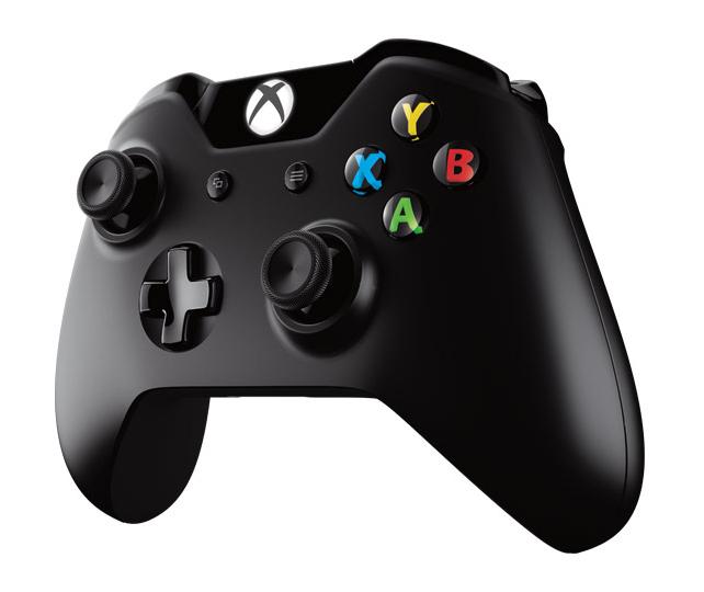 XBOX ONE - Bezdrátový ovladač Xbox One S černý [Nottingham]