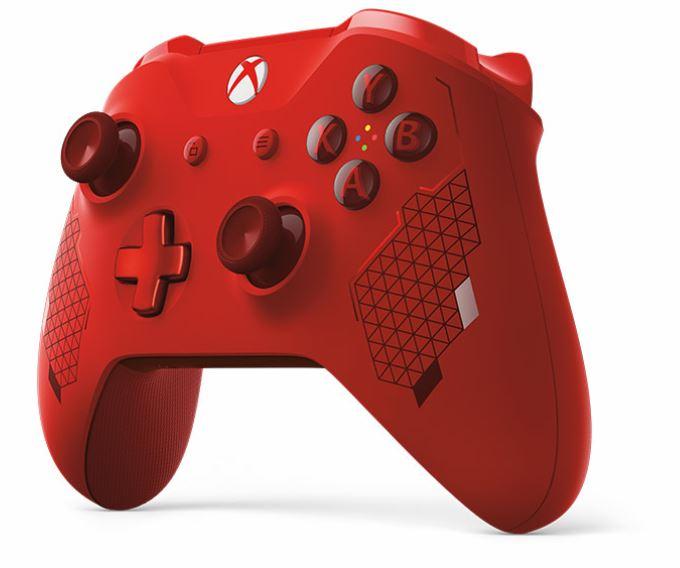 XBOX ONE - Bezdrátový ovladač Xbox One Special Edition Sport Red